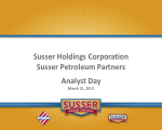 Susser Analyst Day