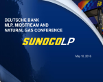 Deutsche Bank MLP, Midstream and Natural Gas Conference