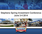 Stephens Spring Investment Conference