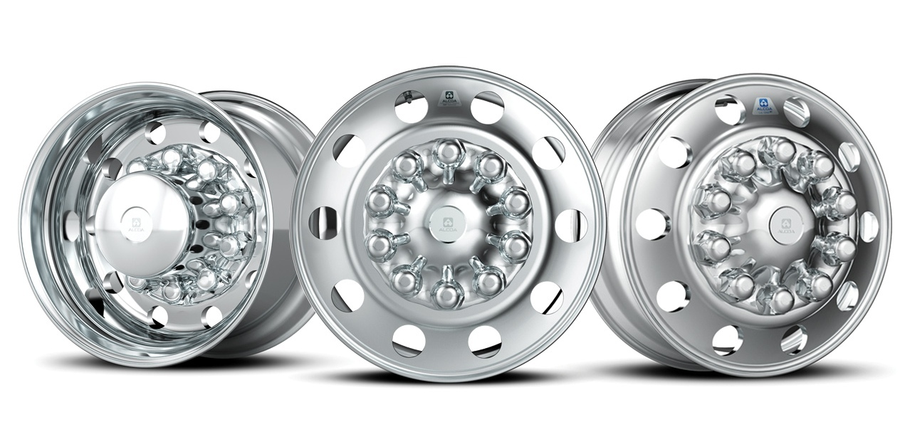 Alcoa has rolled out the most advanced aluminum alloy for truck wheels, opening the door for lighter, stronger, corrosion-resistant wheels. Alcoa invented the forged wheel, shown here, and has remained the industry leader for 65 years. (Photo: Business Wire)
