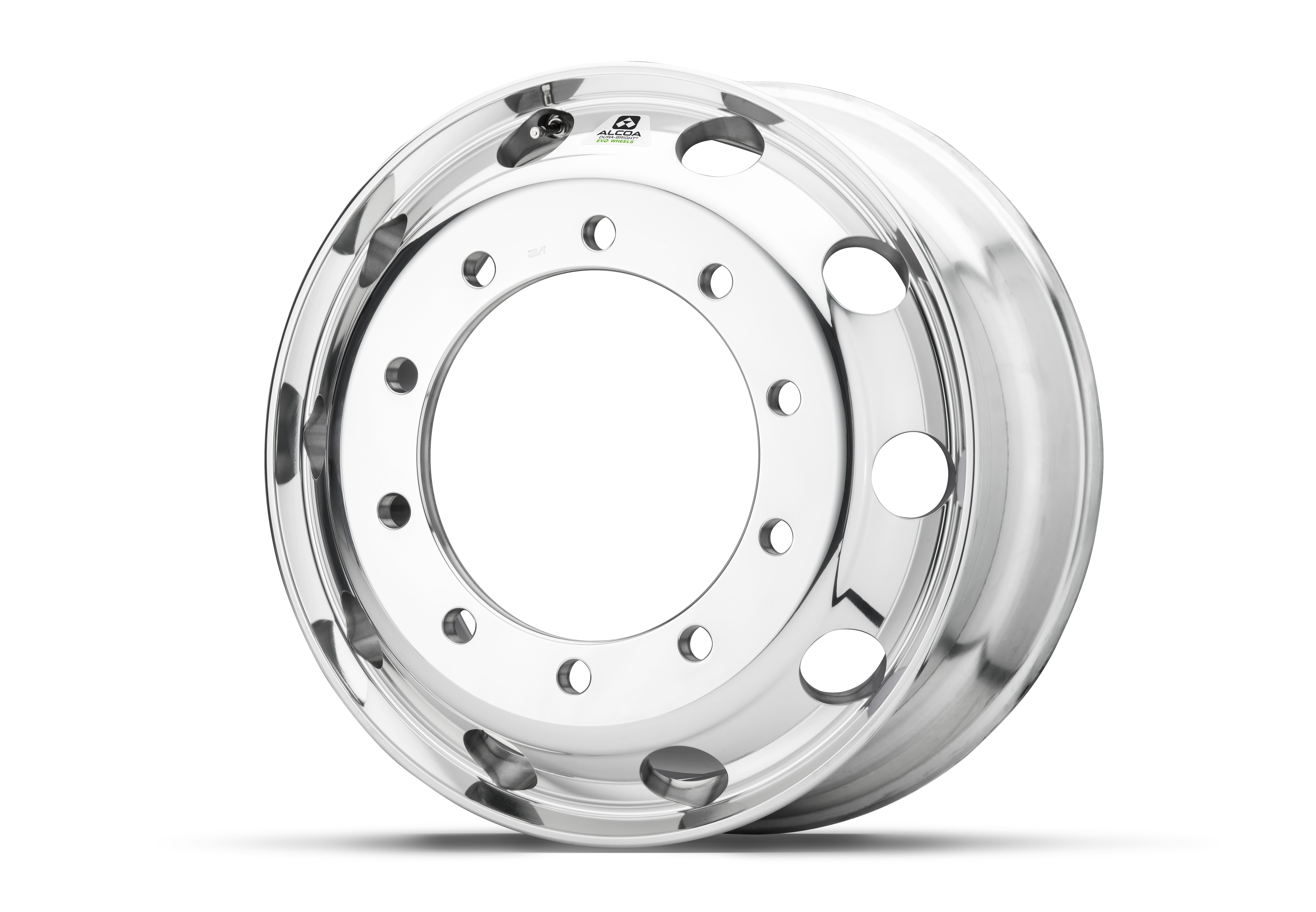 Alcoa has rolled out its most durable, easy-to-maintain commercial truck wheel, known as the Dura-Bright® EVO wheel, which stands up stronger against the weather, road salts, grime and cleaning agents that can corrode and dull standard commercial truck wheels. (Photo: Business Wire)