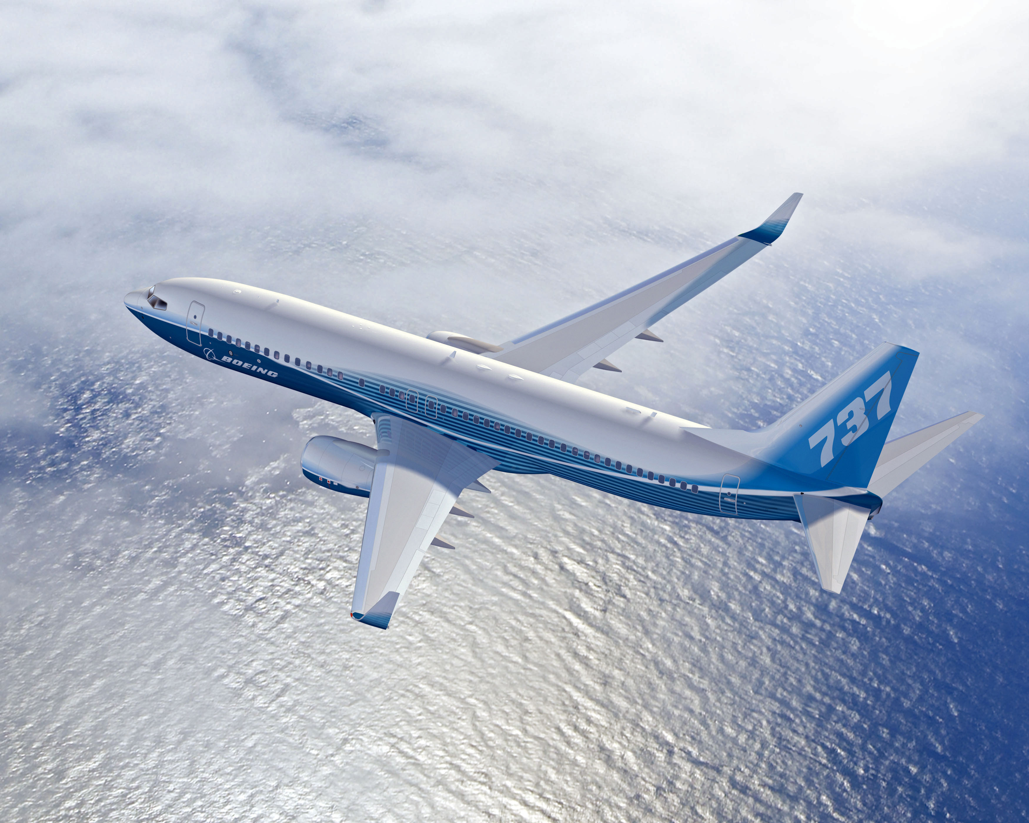 Alcoa signs the largest-ever contract with Boeing to supply aluminum sheet and plate products. The multiyear, more than $1 billion contract, makes Alcoa sole supplier to Boeing for wing skins on its metallic structure aircraft. Alcoa plate products, such as wing ribs and skins, will also be on every Boeing platform. The Boeing next-generation 737, shown here, is one of the world