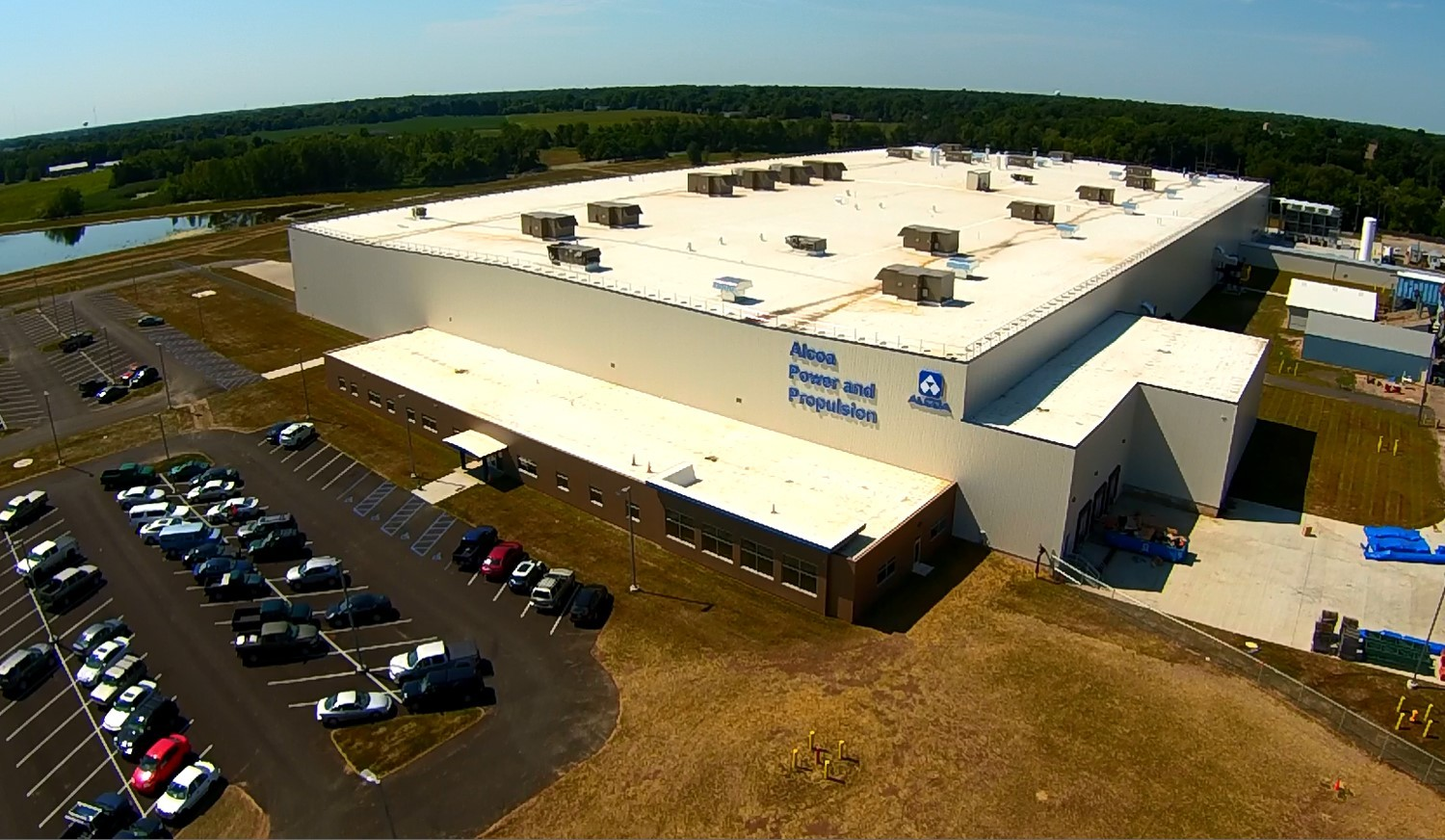 Alcoa today officially opened its cutting-edge jet engine parts expansion in La Porte, Indiana. (Photo: Business Wire)