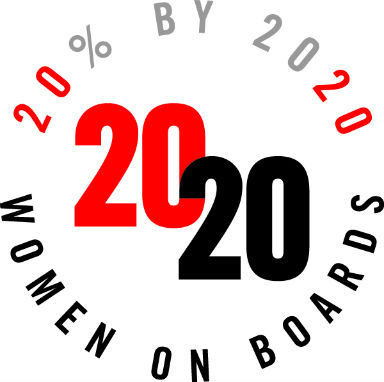 20% By 2020 Women on Boards