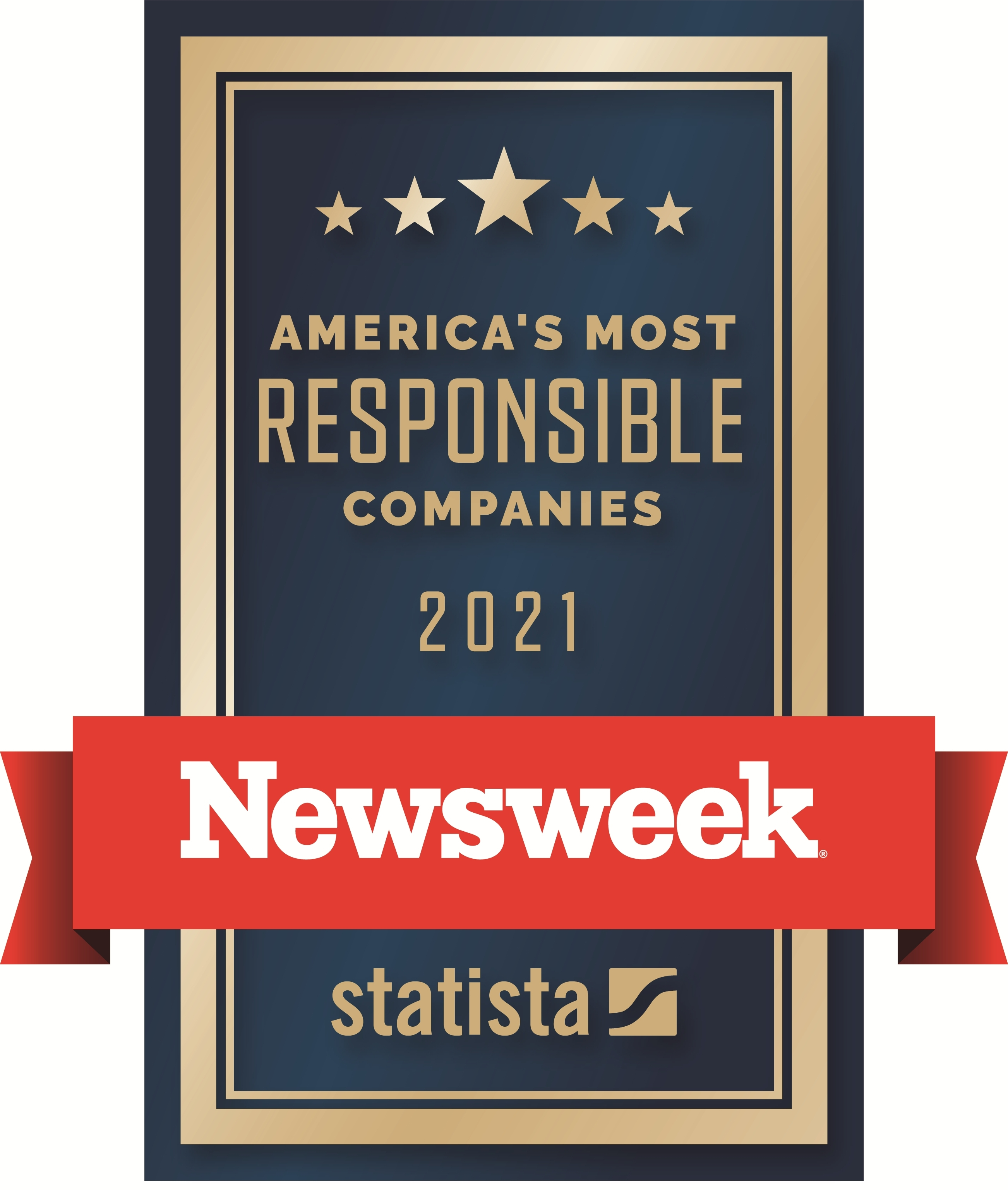 "For the second consecutive year, Ryder has been named by Newsweek to its annual list of ""America's Most Responsible Companies"" for 2021 recognizing the company's ongoing commitment to corporate social responsibility efforts related to its environment, social, and corporate governance initiatives."