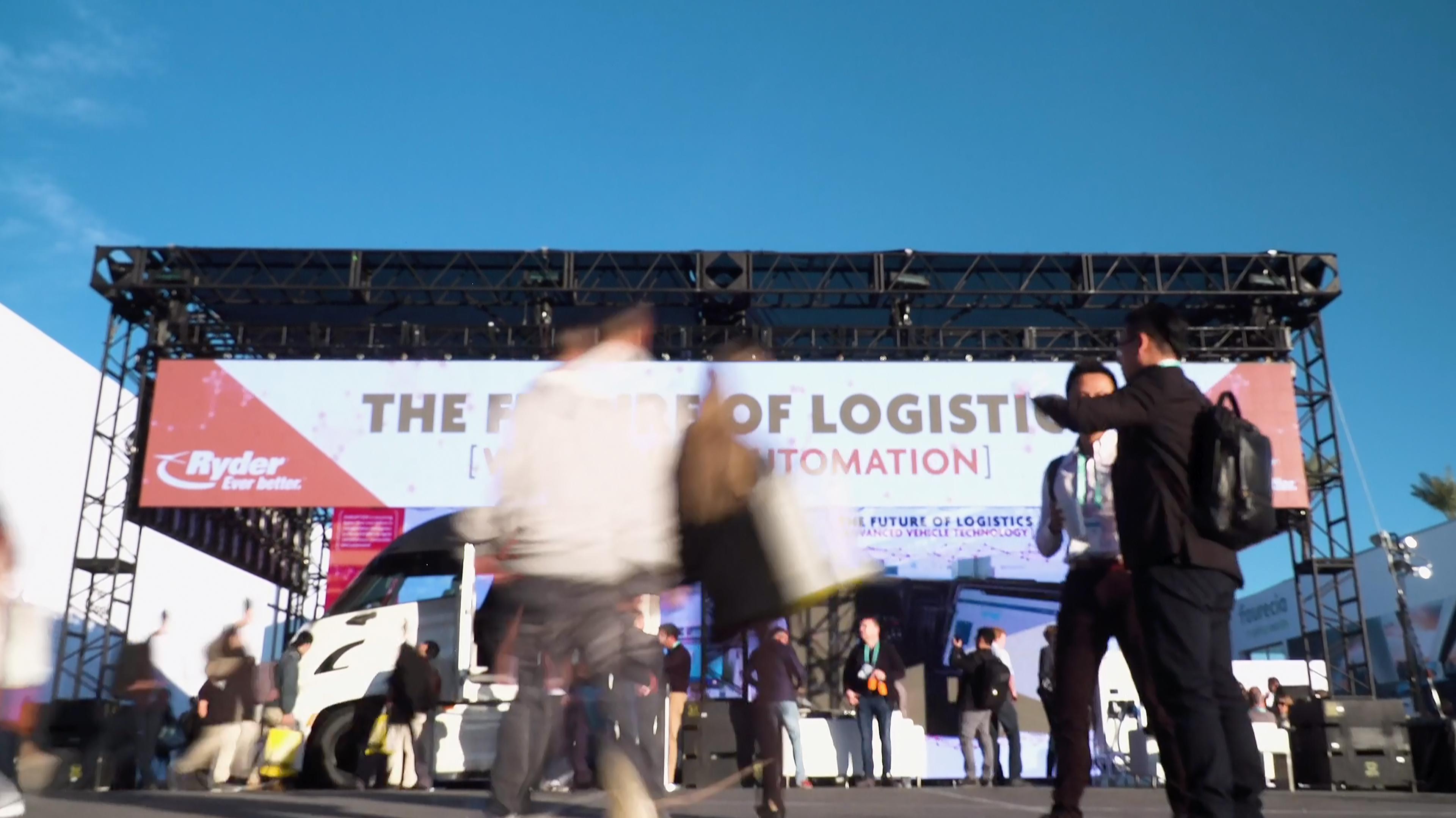 "Ryder focused on the ""Future of Logistics"" at the CES 2020 show in Las Vegas. The company showcased its investment in cutting-edge technologies aimed at advancing the logistics industry, while seeking out the latest innovations and the start-ups behind them. (Photo: Business Wire)"