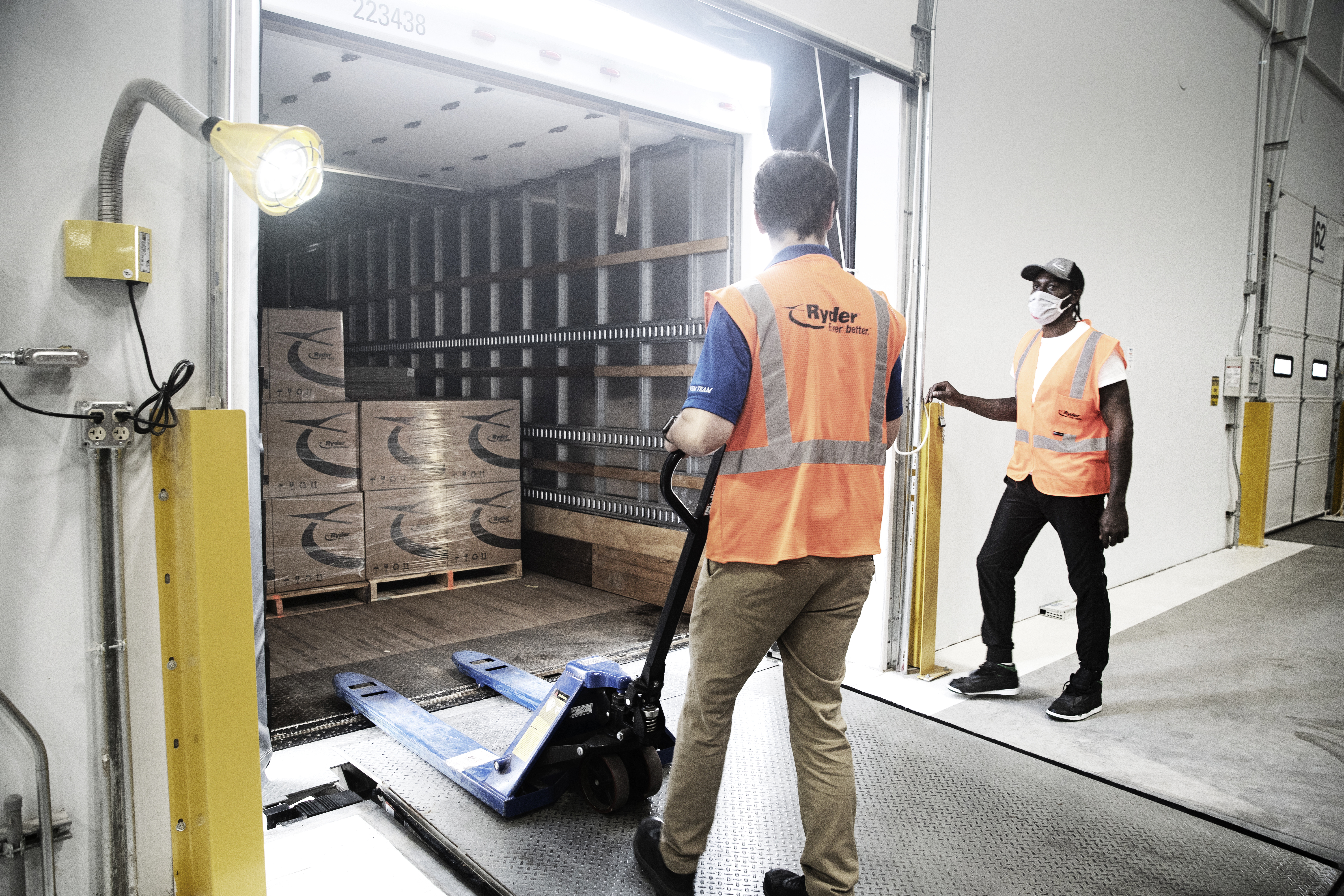 Since the coronavirus pandemic began to impact North America, Ryder has worked with customers to keep supply chains and the flow of goods moving. (Photo: Business Wire)