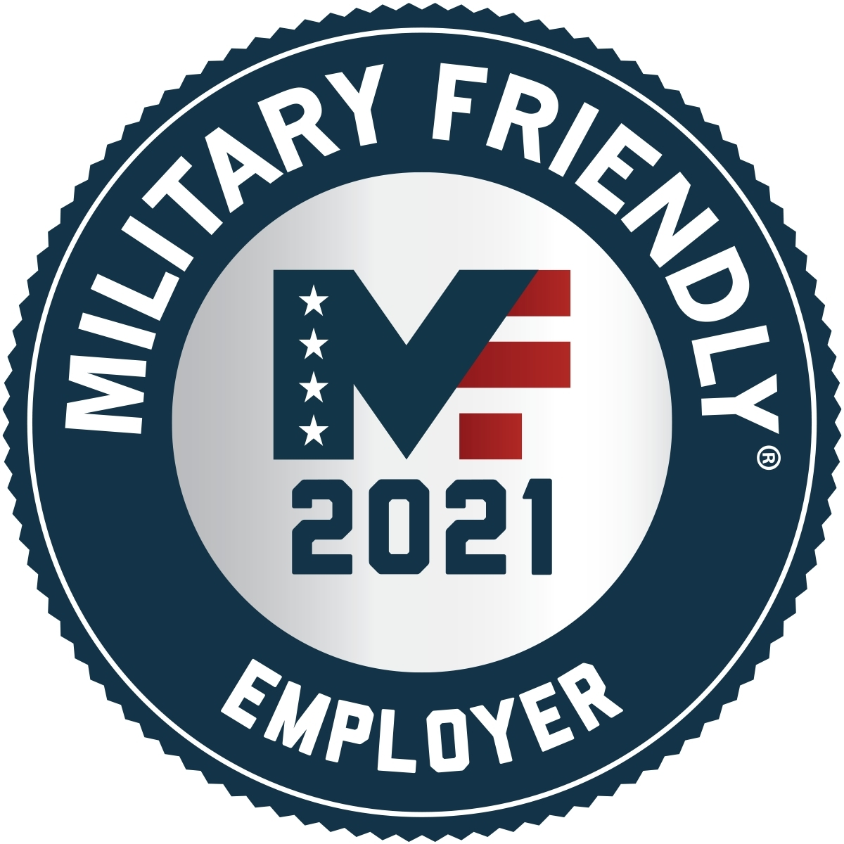 Ryder has earned the Military Friendly Employer recognition for two consecutive years. (Graphic: Business Wire)