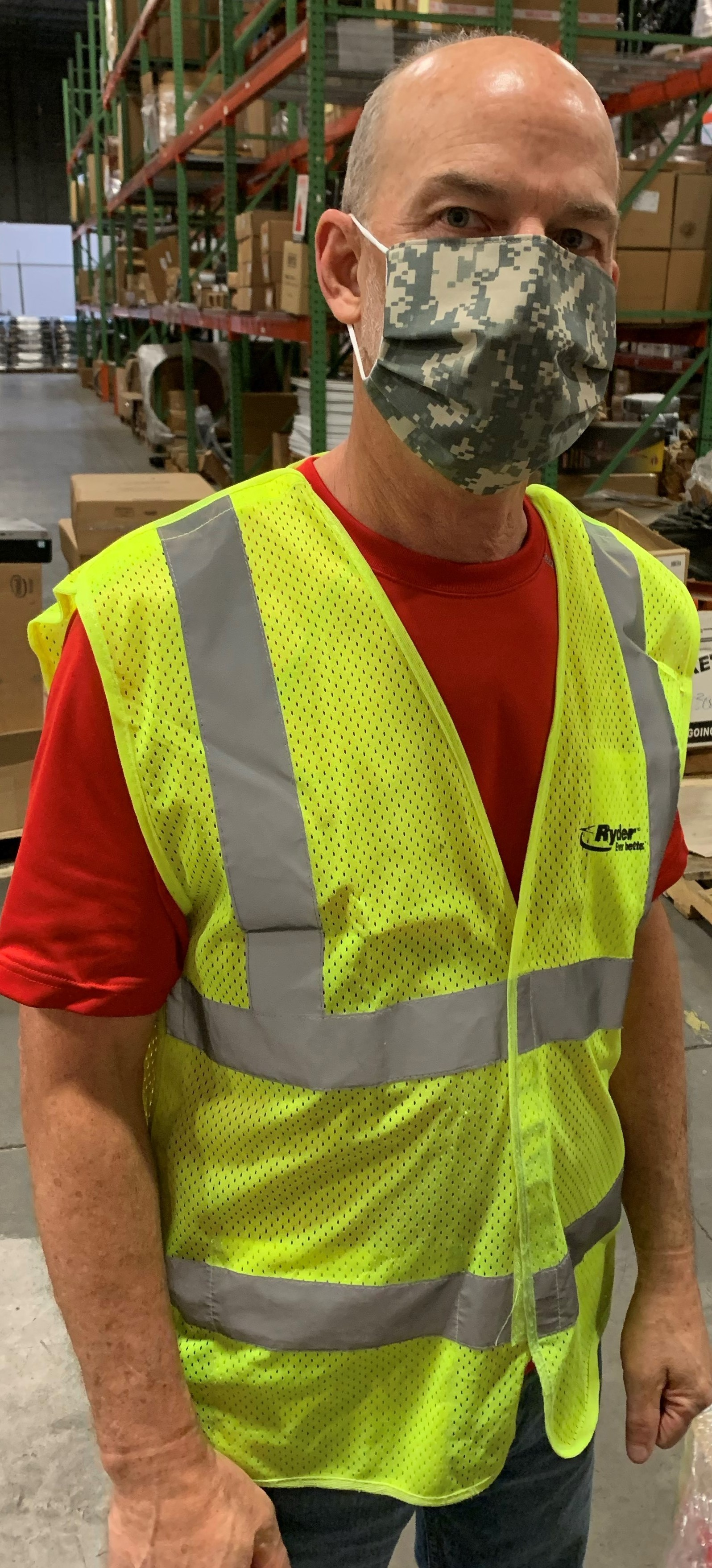 Goodwill South Florida to manufacture 20,000 masks for Ryder employees to wear as they support the flow of essential goods and services needed in the fight against COVID-19. (Photo: Business Wire)