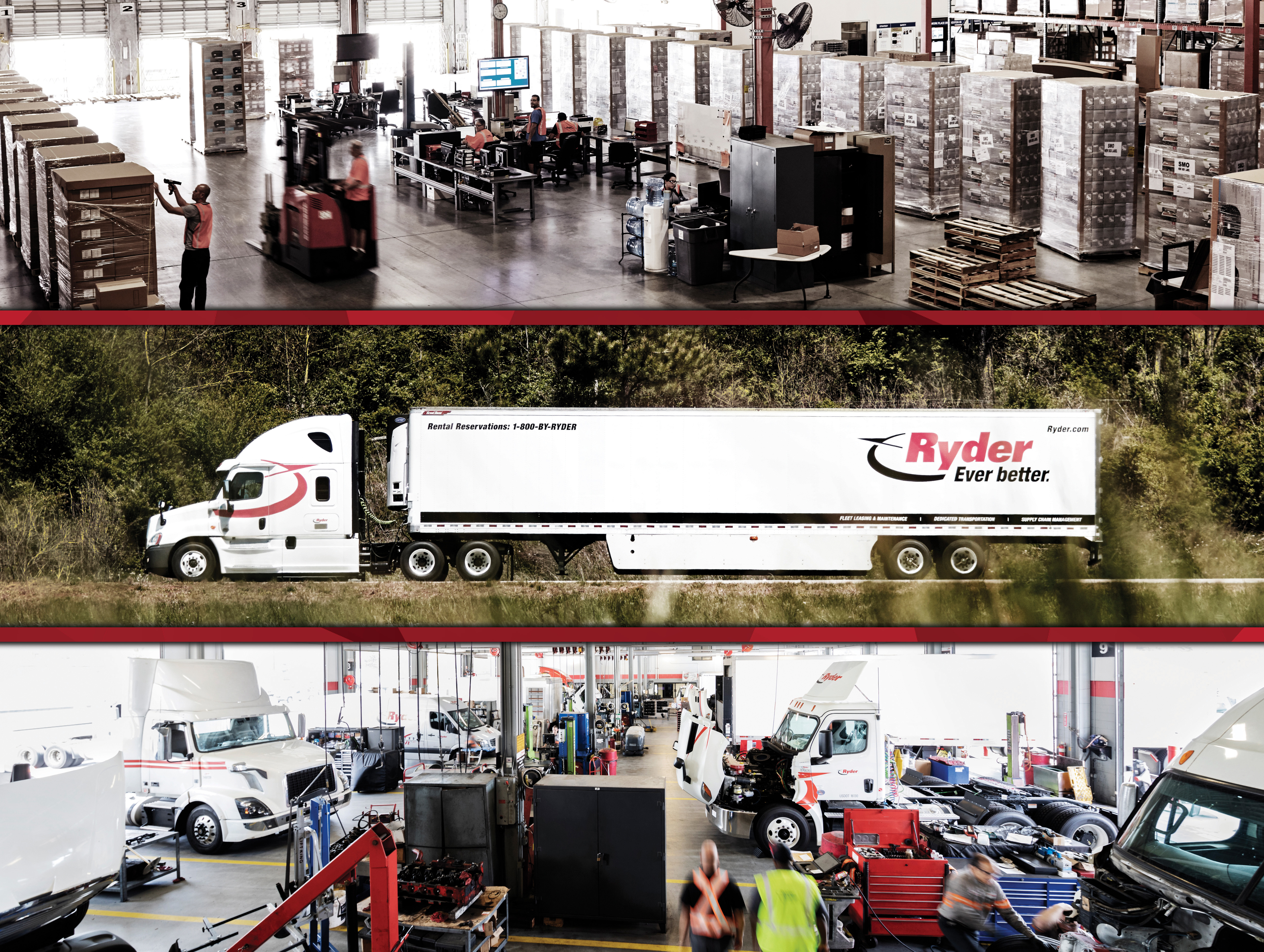 Ryder is a leader in supply chain, dedicated transportation, and fleet management solutions. (Photo: Business Wire)