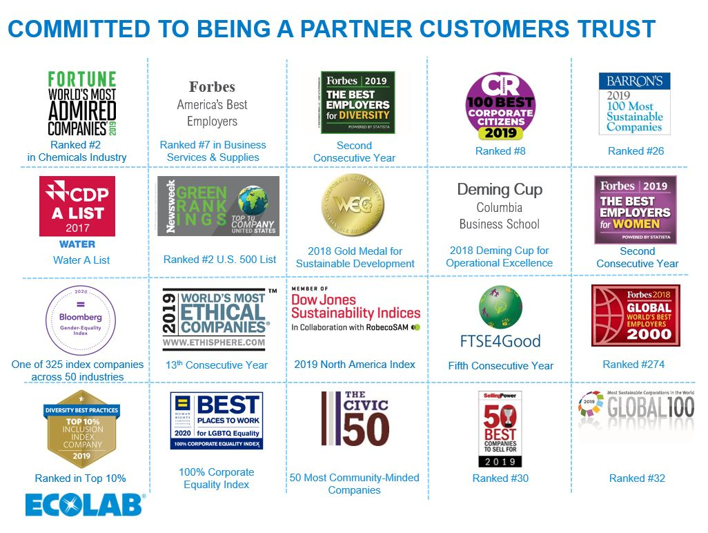 Committed to being a partner customers trust