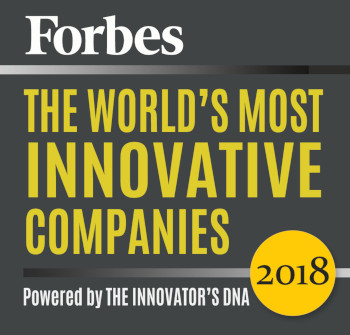Forbes 2018 The world's most innovative companies