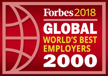 Forbes 2018 Global world's best employers 2000