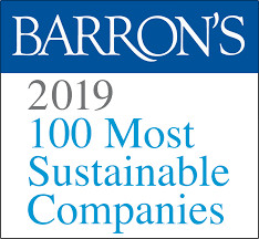 Barron's 2019 100 most sustainable companies